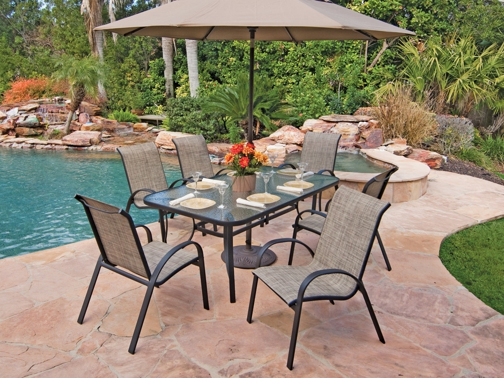 Outdoor Dining Room Table And Chairs: 25 Collection Of Outdoor Dining Table And Chairs Sets
