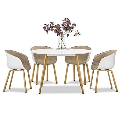 Dining Sets – Dining Room Furniture | Zanui Within Macie 5 Piece Round Dining Sets (Image 16 of 25)