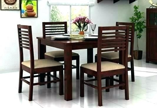 Dining Sets For 4 Rio Dining Set 4 Chairs – Insynctickets Within 4 Seat Dining Tables (Image 15 of 25)