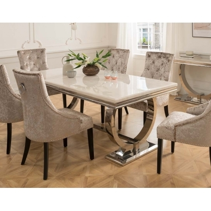Dining Sets In Cornwall & Devon At Furniture World – Furniture World Throughout Cream Lacquer Dining Tables (Image 10 of 25)