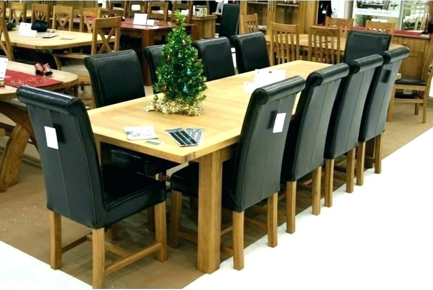 Dining Table 10 Room And Chairs For Sale – Fondodepantalla Intended For Dining Table And 10 Chairs (Image 16 of 25)