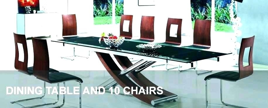 Dining Table 10 Room And Chairs For Sale – Fondodepantalla Intended For Dining Table And 10 Chairs (View 15 of 25)