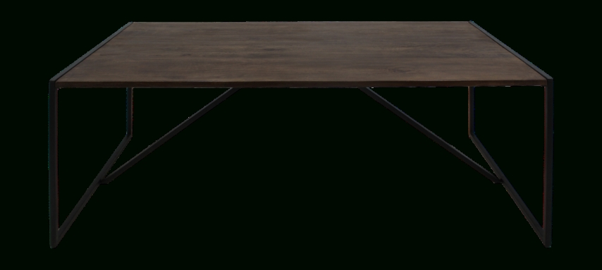 Dining Table – 220X100 Cm – Mango Wood/iron – Antique Finish Inside Mango Wood/iron Dining Tables (Image 5 of 25)