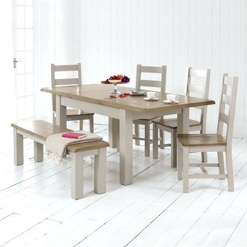 Dining Table 4 Chairs And Bench Dining Table In Pine With 4 Chairs Inside Market 6 Piece Dining Sets With Side Chairs (Image 11 of 25)