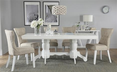 Dining Table & 6 Chairs – 6 Seater Dining Tables & Chairs Inside White Dining Tables And 6 Chairs (Image 8 of 25)