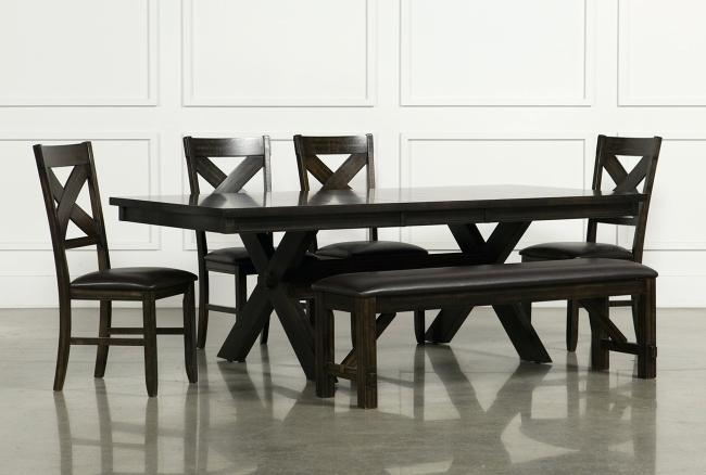 Dining Table 6 Piece Set Dining Tables Sets Dining Table Set 6 With Regard To Mallard 6 Piece Extension Dining Sets (Image 10 of 25)