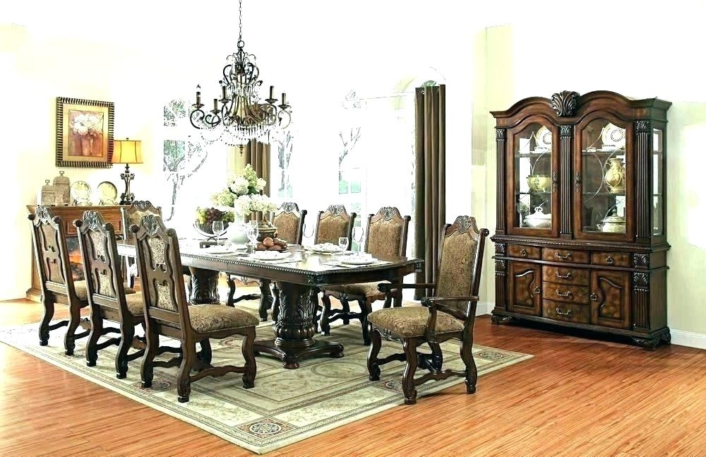 Dining Table 8 Chairs Set – Insynctickets Within 8 Chairs Dining Sets (Image 14 of 25)