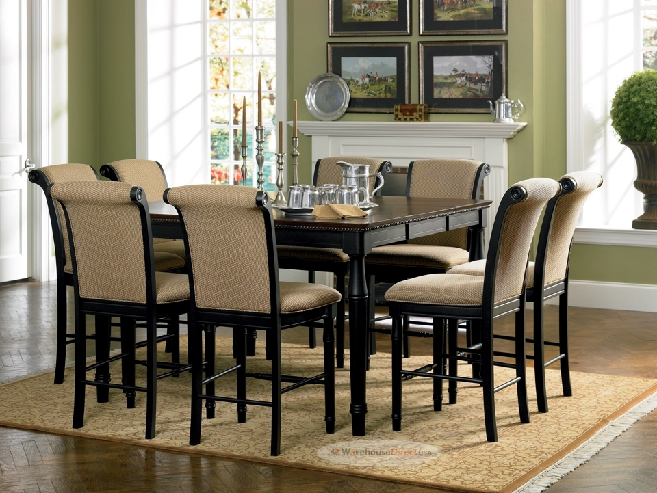 Dining Table 8 Seater Dimensions Ethnic Handicrafts Elmond 6 Seater In Dining Tables With 8 Seater (Image 16 of 25)