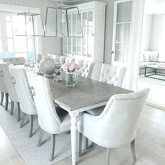 Dining Table And 2 Bench Set Oak White Grey Concrete Marble Within White Dining Sets (Image 11 of 25)
