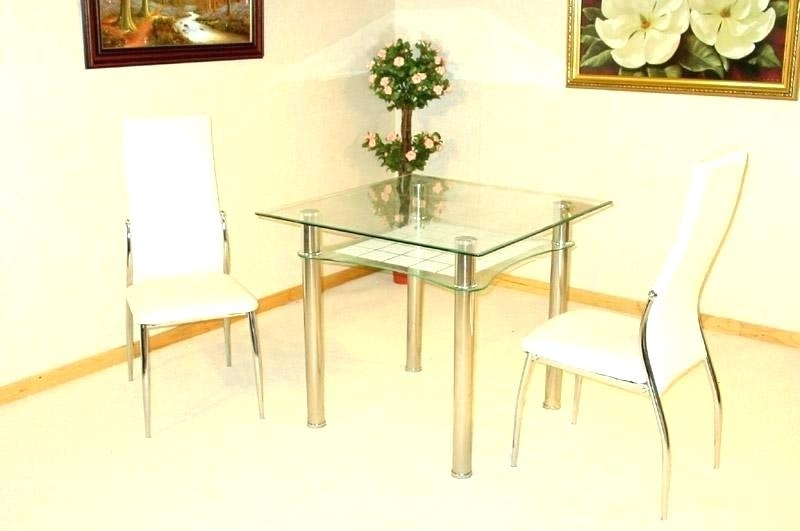 Dining Table And 2 Chairs Breakfast Set - Castrophotos regarding Two Person Dining Table Sets