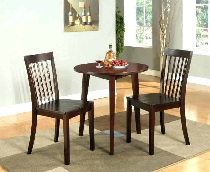 Dining Table And 2 Chairs Breakfast Set Small Kitchen Tables For Two In Dining Tables And Chairs For Two (Image 8 of 25)