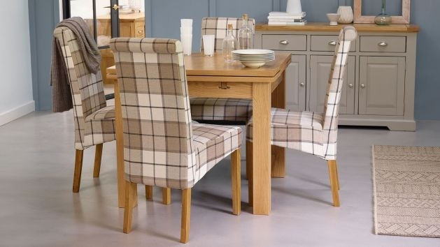 Dining Table And 4 Chairs | Small Dining Table And Chairs | Oak Throughout 3Ft Dining Tables (View 7 of 25)
