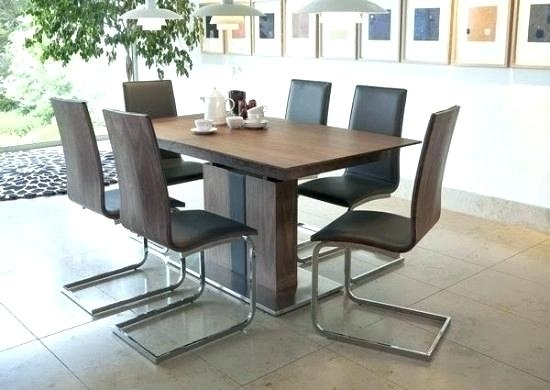 Dining Table And 6 Chairs Room Solid Oak Round Curtains Kitchen Ebay For Extendable Dining Table And 6 Chairs (View 5 of 25)