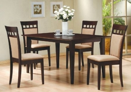 Dining Table And 6 Chairs   Wooden Dining Room Chairs Inside Dining Tables And Chairs Sets (Image 8 of 25)