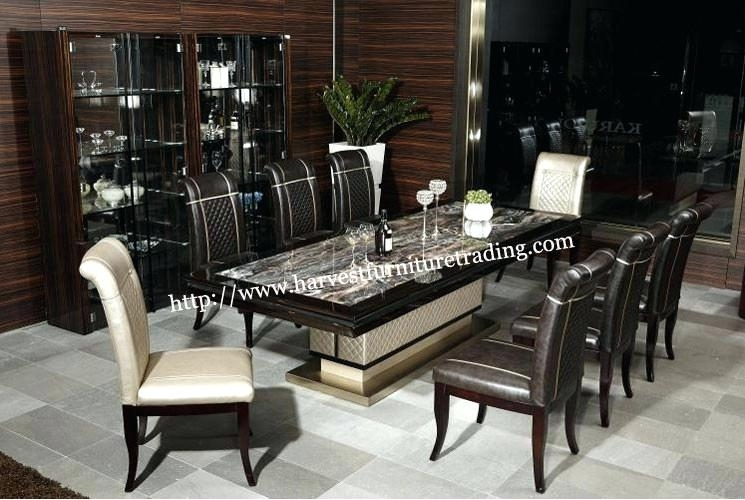 Dining Table And 8 Chair Sets Dining Table And 8 Chair Sets New 8 With Dining Tables And 8 Chairs Sets (Image 11 of 25)