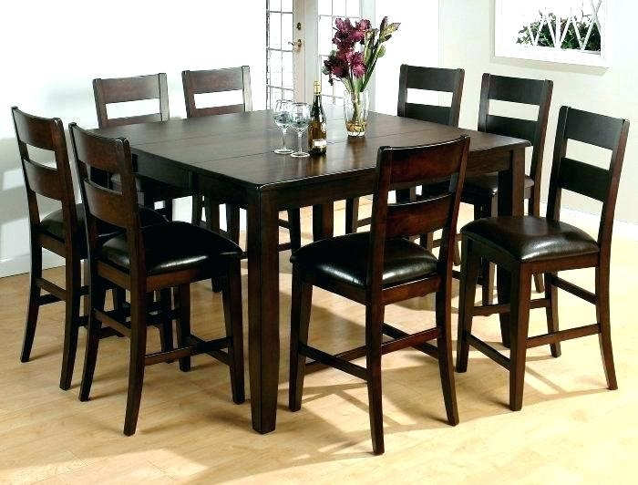 Dining Table And 8 Chair Sets Round For Chairs Set Room Rattan With Regard To Dining Tables 8 Chairs Set (Image 11 of 25)