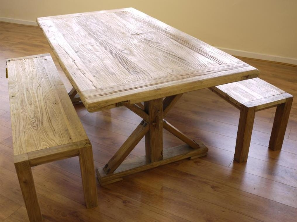 Dining Table And Benches – House Plans And More House Design With Dining Tables And 2 Benches (Image 17 of 25)