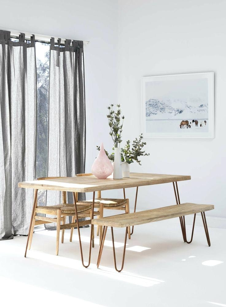 Dining Table And Benches Set – Chann With Small Dining Tables And Bench Sets (Image 11 of 25)