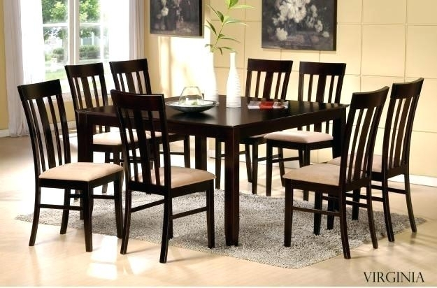 Dining Table And Chair Set Best New Dining Table And Chairs Set Throughout Dining Tables And Chairs (Image 7 of 25)