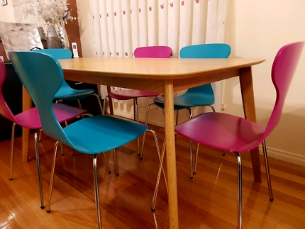 Dining Table And Chairs | Dining Tables | Gumtree Australia Kingston Regarding Patterson 6 Piece Dining Sets (Image 6 of 25)