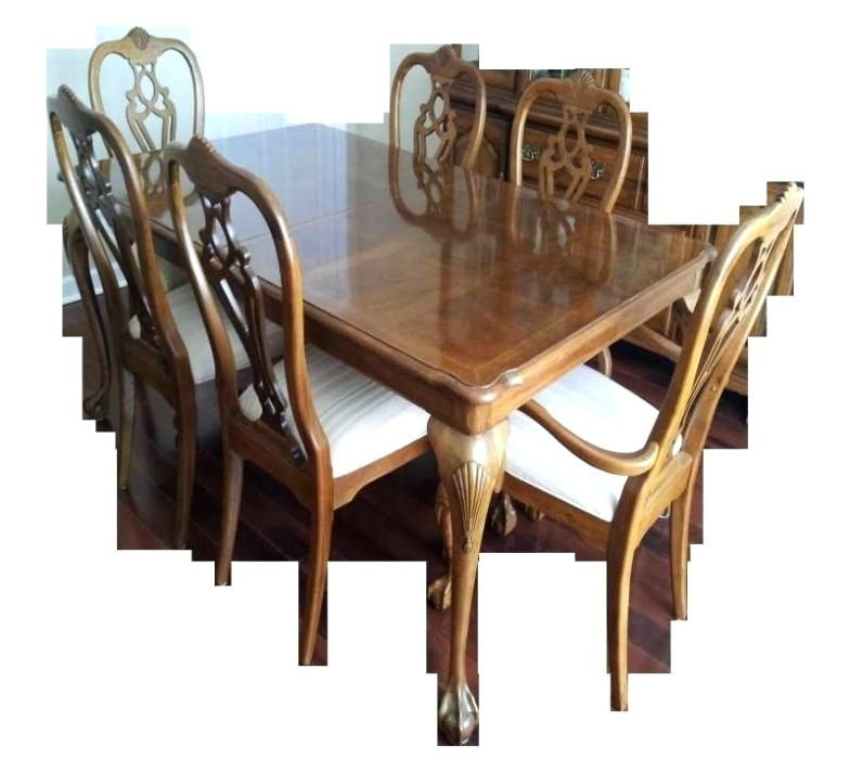 Dining Table And Chairs Palazzo 6 Piece Rectangle Dining Set With Regarding Palazzo Rectangle Dining Tables (Image 8 of 25)