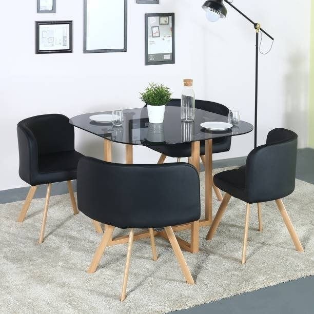 Dining Table At Walmart | All About Table Creation Idea With Regard To Small 4 Seater Dining Tables (Image 10 of 25)