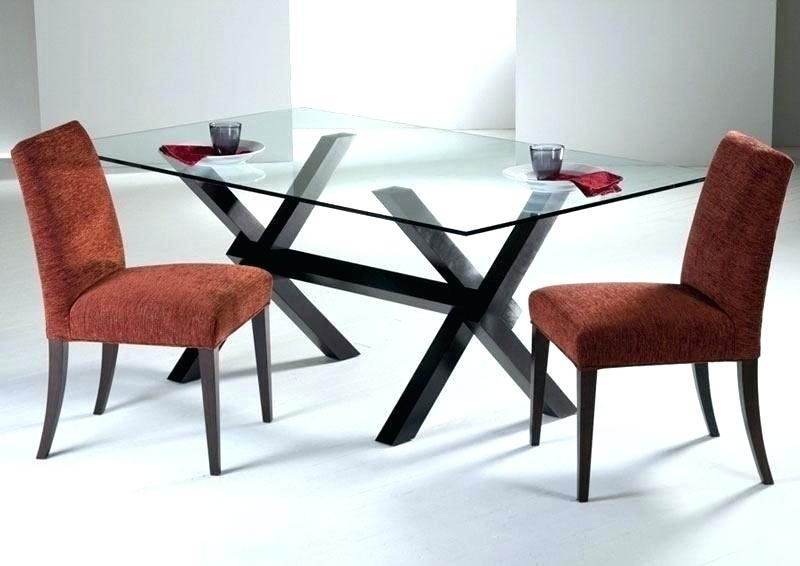 Dining Table Base Design – Latejica Pertaining To Wooden Glass Dining Tables (Image 5 of 25)