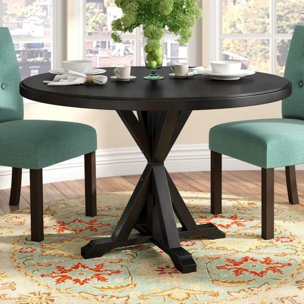Dining Table Base | Wayfair Regarding Pelennor Extension Dining Tables (Image 10 of 25)