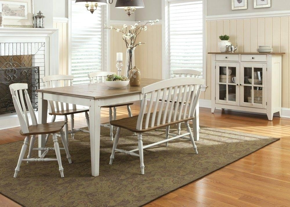 Dining Table Bench Seat With Back Benches With Backs For Dining Regarding Dining Tables Bench Seat With Back (Image 11 of 25)