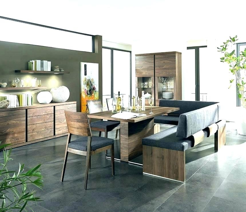 Dining Table Bench Seat With Back Dining Table Bench Ideas Dining Pertaining To Bench With Back For Dining Tables (View 18 of 25)