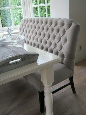 Dining Table Bench Seat With Back – Foter | House | Pinterest | Room With Dining Tables Bench Seat With Back (Image 7 of 25)