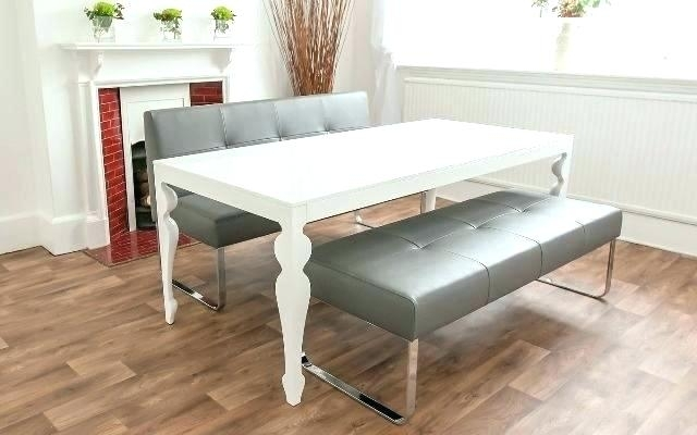 Dining Table Bench With Back – Warqadc Within Bench With Back For Dining Tables (Image 12 of 25)