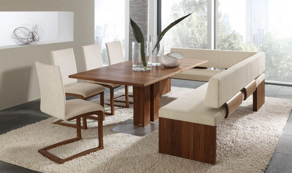 Dining Table Bench With Back – Who Designed This? Pertaining To Dining Tables Bench Seat With Back (View 4 of 25)
