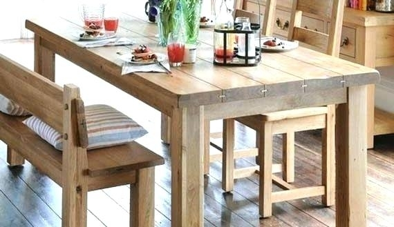 Featured Image of Dining Tables Bench Seat With Back