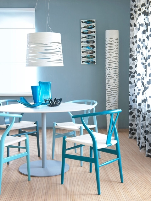 Dining Table Blue – Modern – Dining Room – Amsterdam For Blue Dining Tables (Image 11 of 25)