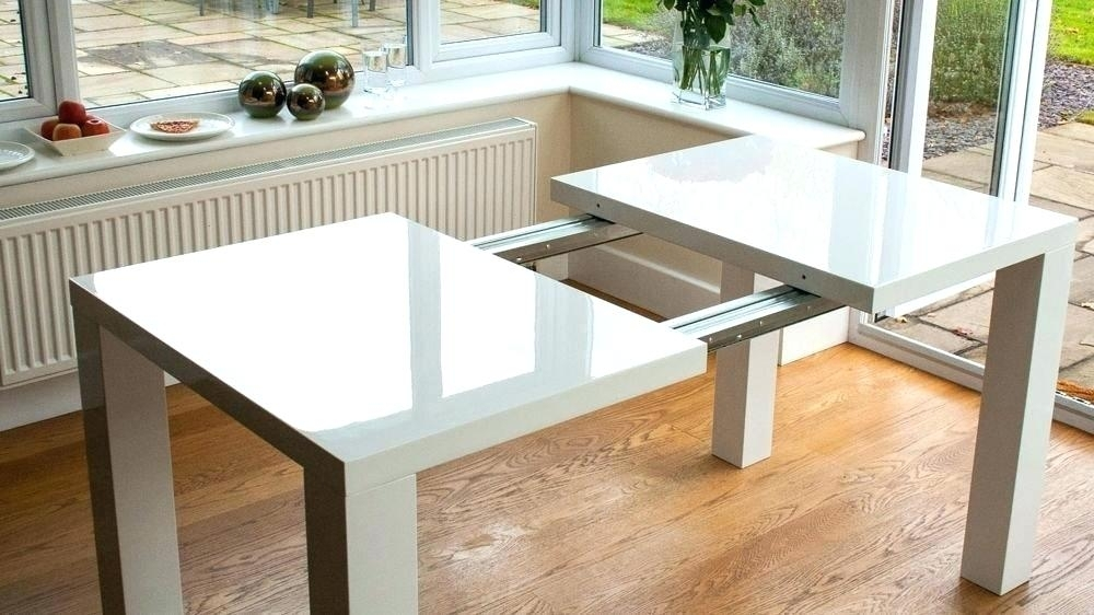 Dining Table Expandable Extendable Square Dining Table Expandable Throughout Square Extendable Dining Tables (Image 3 of 25)