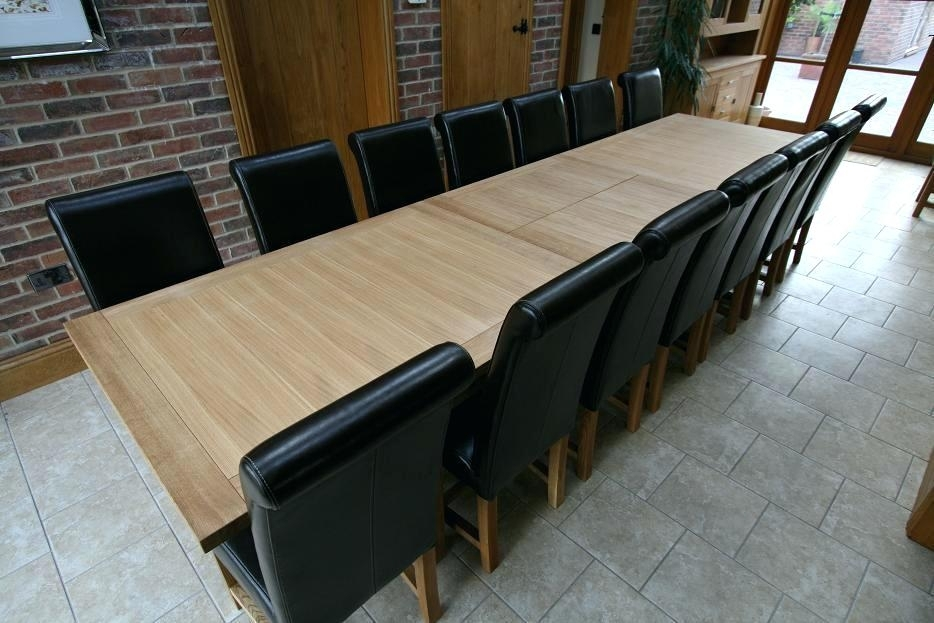 Dining Table For 14 Table Cute Seat Dining Table Tables And Chairs Intended For Extending Dining Tables With 14 Seats (Image 8 of 25)