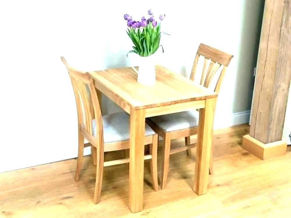 Dining Table For 2 Small Dining Table Set 2 Chairs – Insynctickets With Two Person Dining Tables (View 14 of 25)