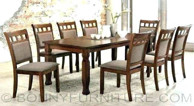 Dining Table For 8 Modern Dining Room Sets For 8 Dining Table And 8 Within Dining Tables 8 Chairs Set (Image 13 of 25)
