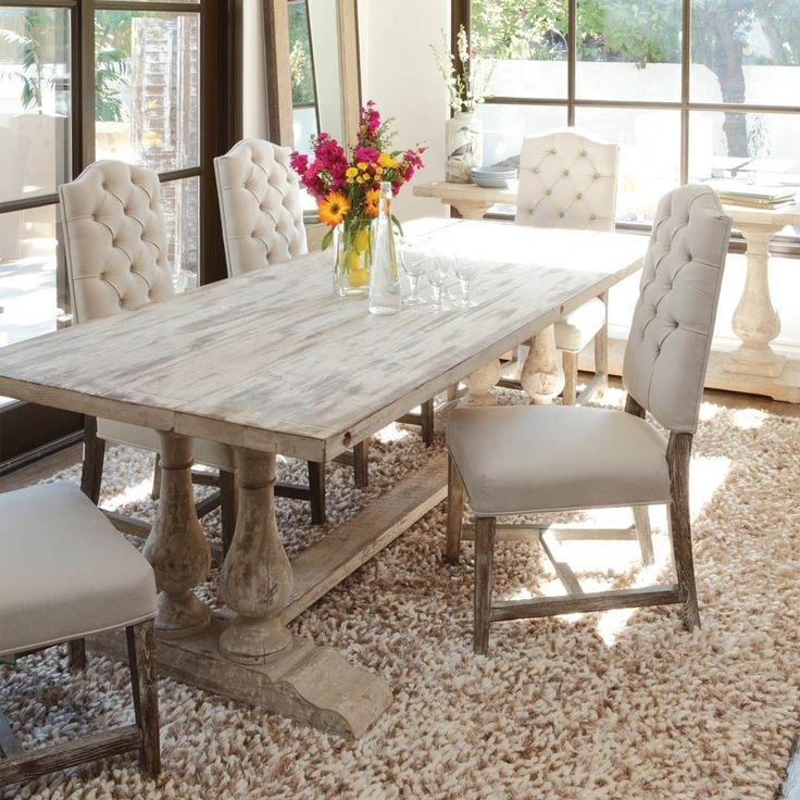 Dining Table Ideas Fancy White Dining Room Table And Best 25 White With White Dining Tables (View 14 of 25)
