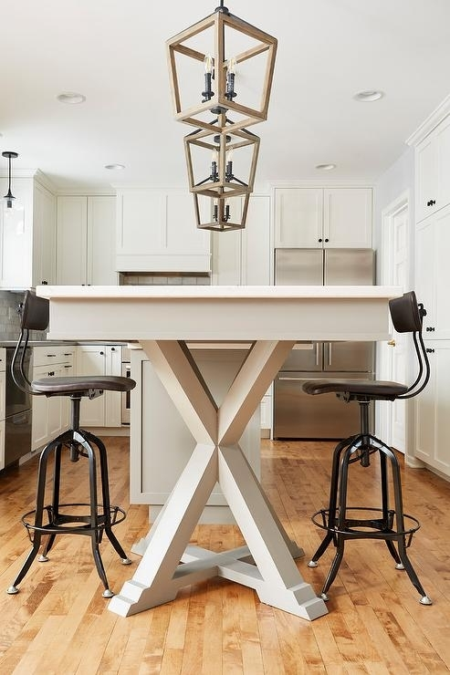 Dining Table Next To Kitchen Island Design Ideas Inside Next White Dining Tables (Image 10 of 25)