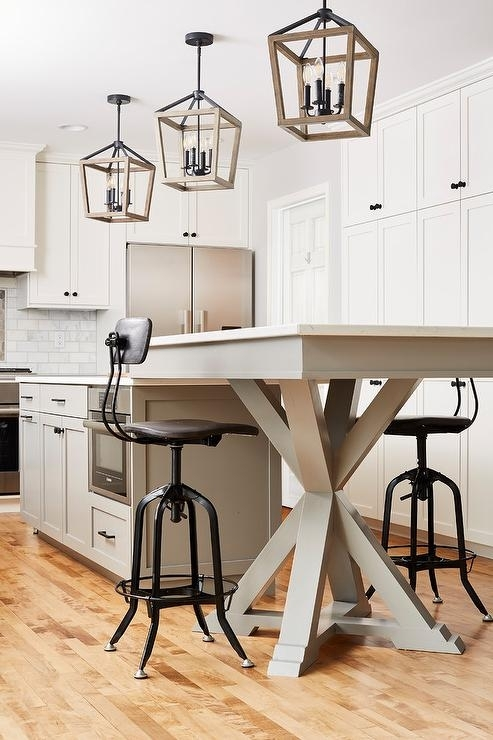 Dining Table Next To Kitchen Island Design Ideas Pertaining To Next White Dining Tables (View 25 of 25)
