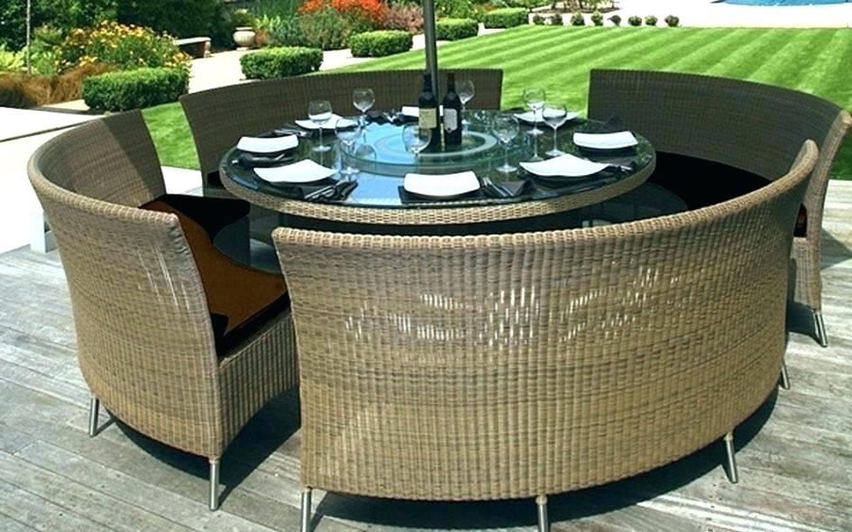 25 Collection Of Outdoor Dining Table And Chairs Sets