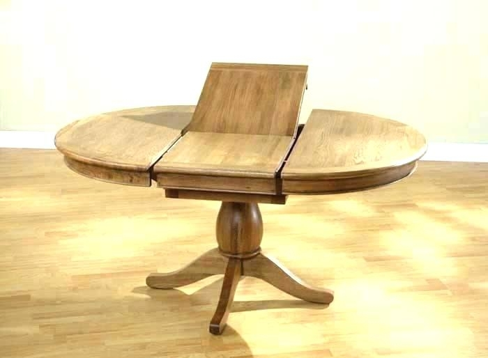Dining Table Round Extendable – Thegioidat For Round Extendable Dining Tables (Image 5 of 25)