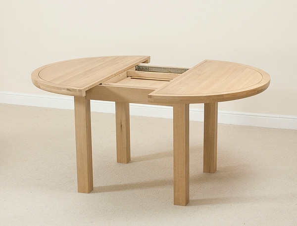 Dining Table Round Extendable – Theradmommy Inside Extendable Round Dining Tables (Image 7 of 25)
