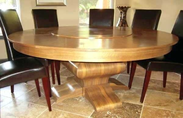 Dining Table Seats 10 Large Round Dining Table Seats Large Oval With Huge Round Dining Tables (Image 6 of 25)