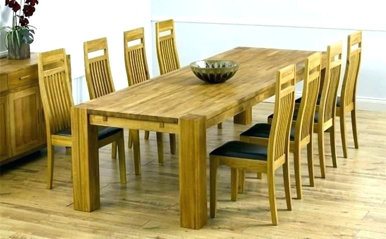 Dining Table Seats Square Dining Tables Seats 8 8 Seat Square Dining Pertaining To Oak Dining Tables And 8 Chairs (View 10 of 25)