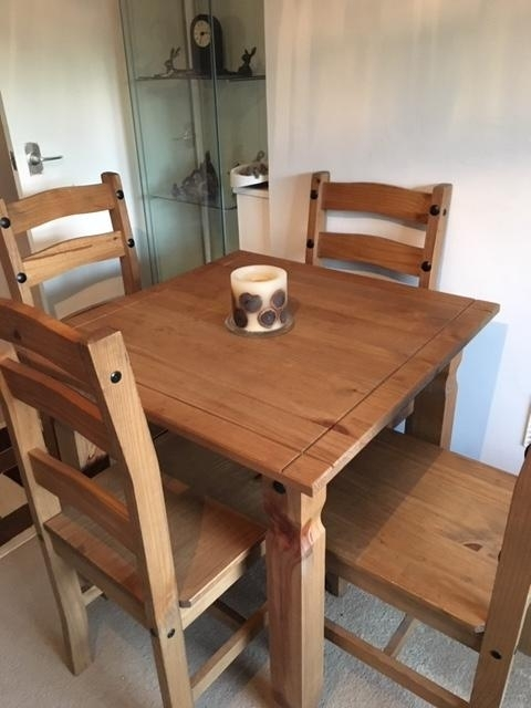Dining Table – Second Hand Household Furniture, Buy And Sell In Within Walden Extension Dining Tables (Image 1 of 25)
