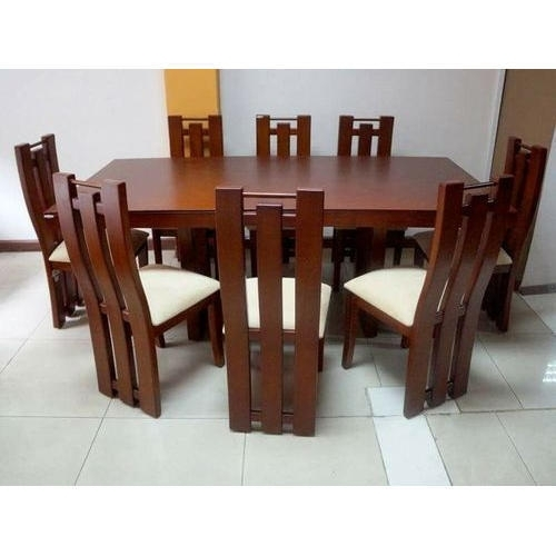 Dining Table Set – 8 Seater Dining Table Set Manufacturer From Nagpur Intended For Eight Seater Dining Tables And Chairs (View 6 of 25)