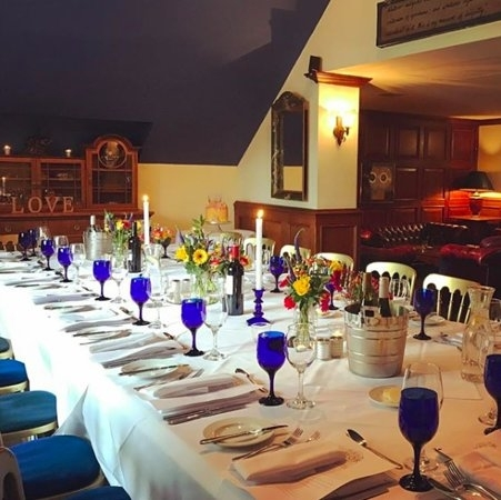 Dining Table Set For 20 Guests – Picture Of Oran Mor, Glasgow With Glasgow Dining Sets (Image 14 of 25)